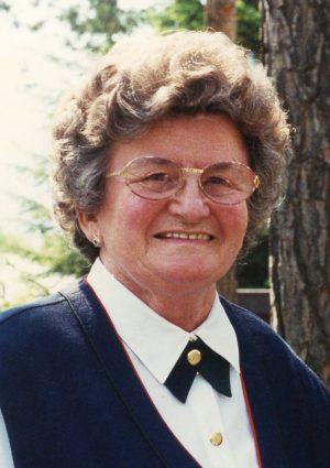Portrait von Frieda Leth